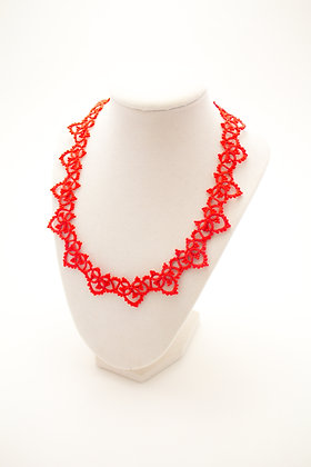 Ranata Necklace in Ruby
