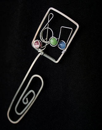 Music Note Bookmark