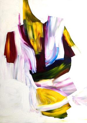 Untitled (Acrylic on canvas #3)