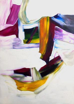 Untitled (Acrylic on canvas #7)