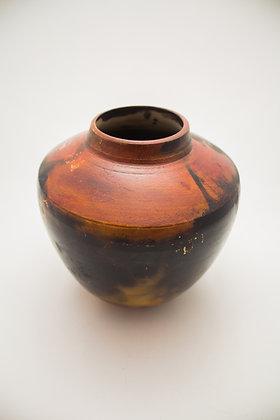 Smoke Fired Classic Vase