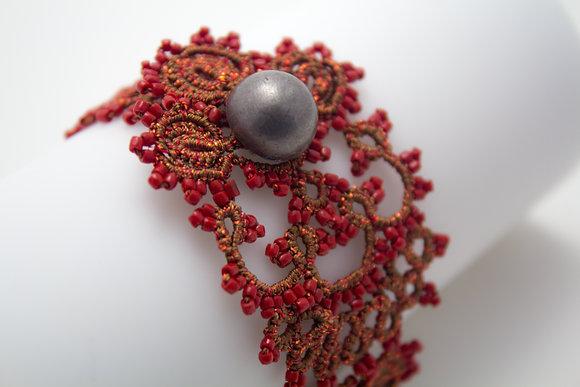 Corsica Bracelet in Red