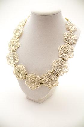 Marta Necklace in Pearl