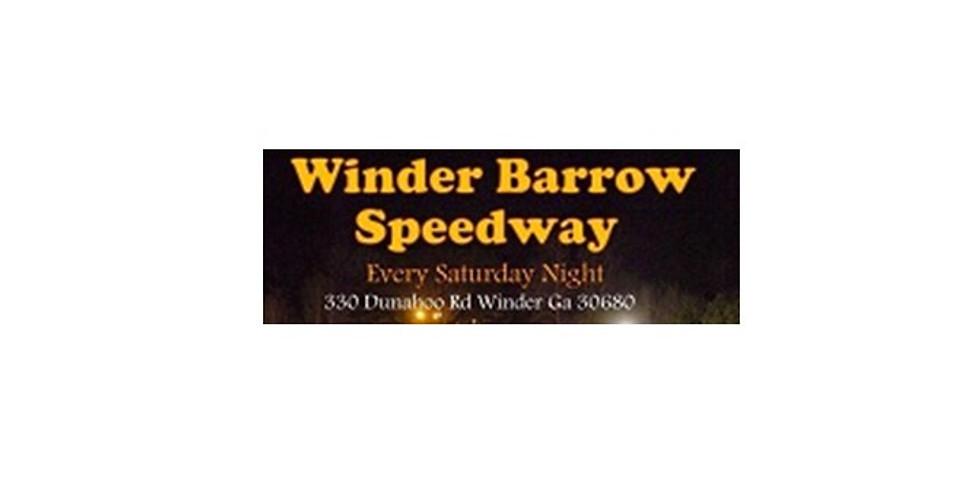 Winder Barrow Speedway-Winder, GA *Special Event