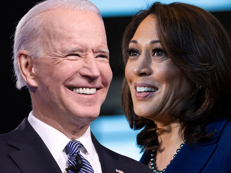 Congratulations President Biden and Vice President Harris - equality & equity in leadership is here!