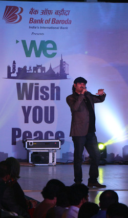 Mohit Chauhan @ We Wish You Peace