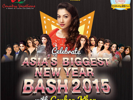 Country Club's New Year Bash 2015 Powered by Chakor Sound