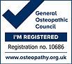 Albo osteopatico inglese