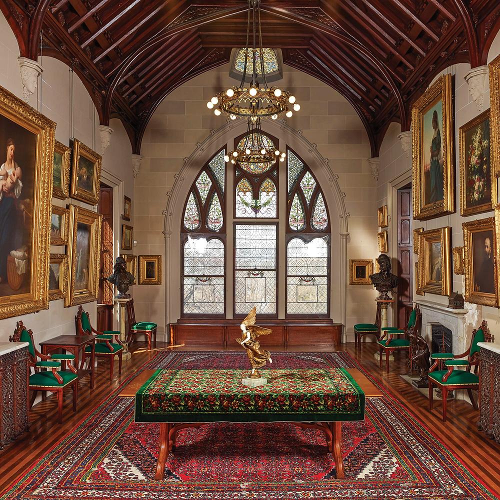 Visiting A Castle Lyndhurst Mansion