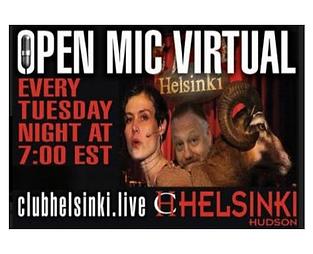Virtual Open Mic Night
