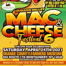 Hudson Valley Mac & Cheese Festival