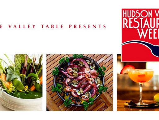 Hudson Valley's Culinary Diversity is on the Menu this Month with the Return of HV Restaurant Week!