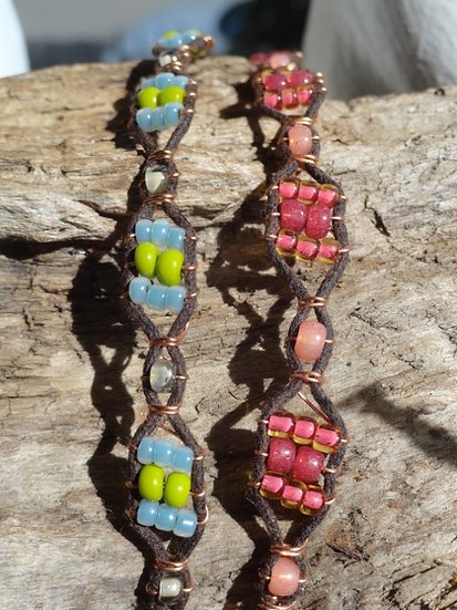 Affordable Glass Bead Friendship Kid Bracelets