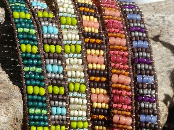 Colorful Glass Bead Affordable Friendship Bracelet