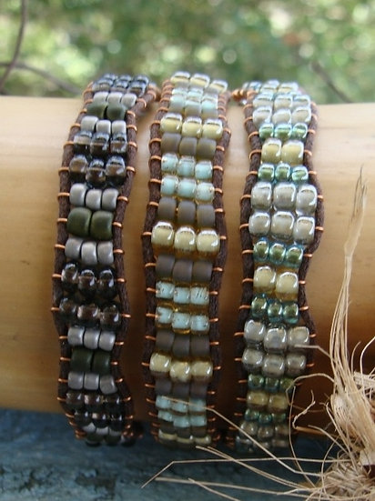 Green Glass Beaded Affordable Friendship Bracelets