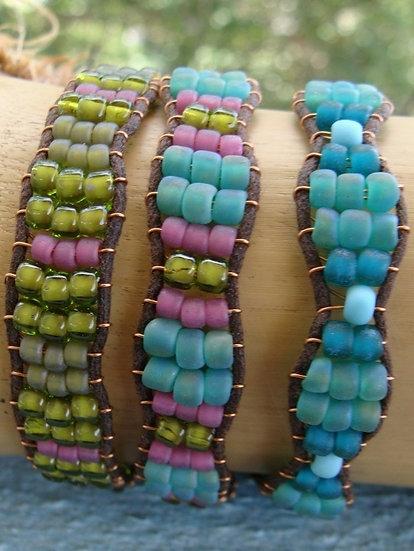 Affordable Glass Beaded Friendship Bracelets