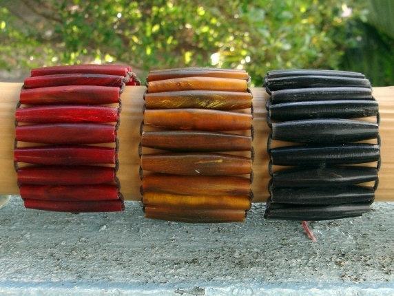 Tribal & Wide Affordable Natural Horn Bracelets