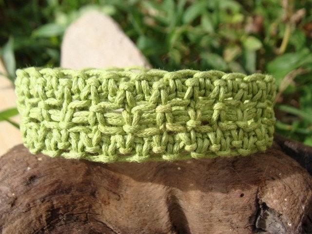 lime green surf bracelet