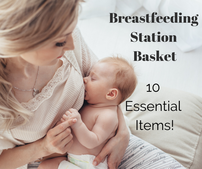 Breastfeeding Station Basket