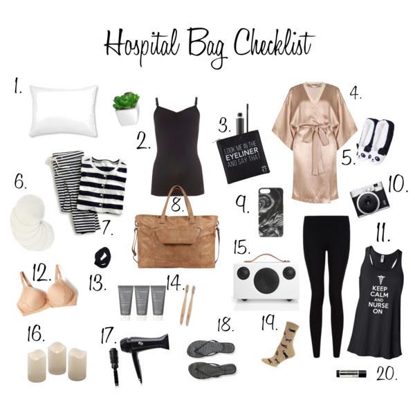 Hospital Bag Checklist For Mom { Top 20 Items!}