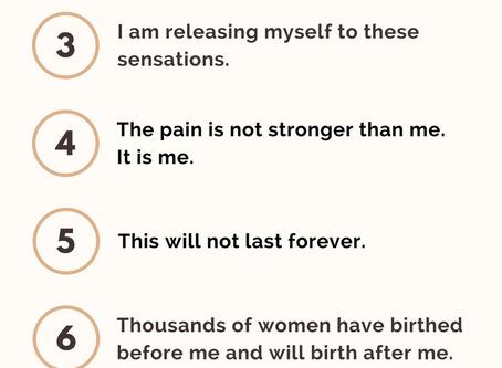 Top 10 Birth Affirmations