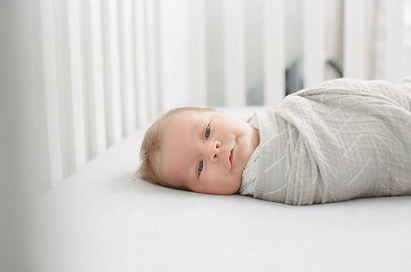 swaddled infant soothing north carolina