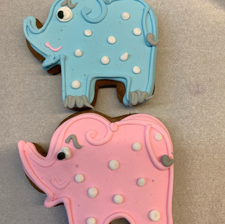Baby Shower GB Elephants 2019 pink and b