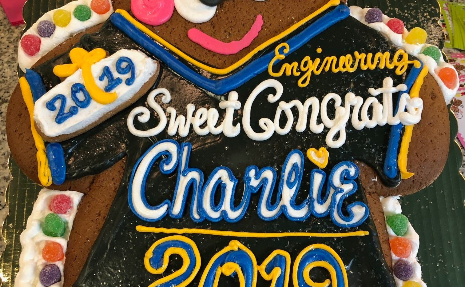 XL GB Boy Graduate Ginger Charlie 2019 I