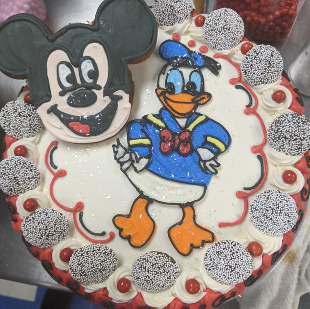 Kids b-day Disney (Mickey and Donald Duc