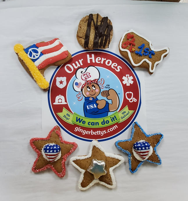 Assorted USA Cookies