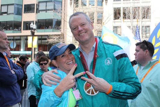 Marathon Peace Cookie Political Charlie