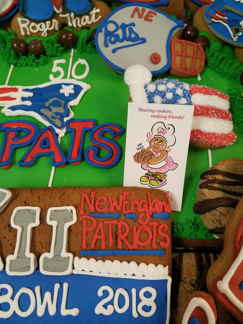 Cookie Tray Go Pats Superbowl 20180130_1