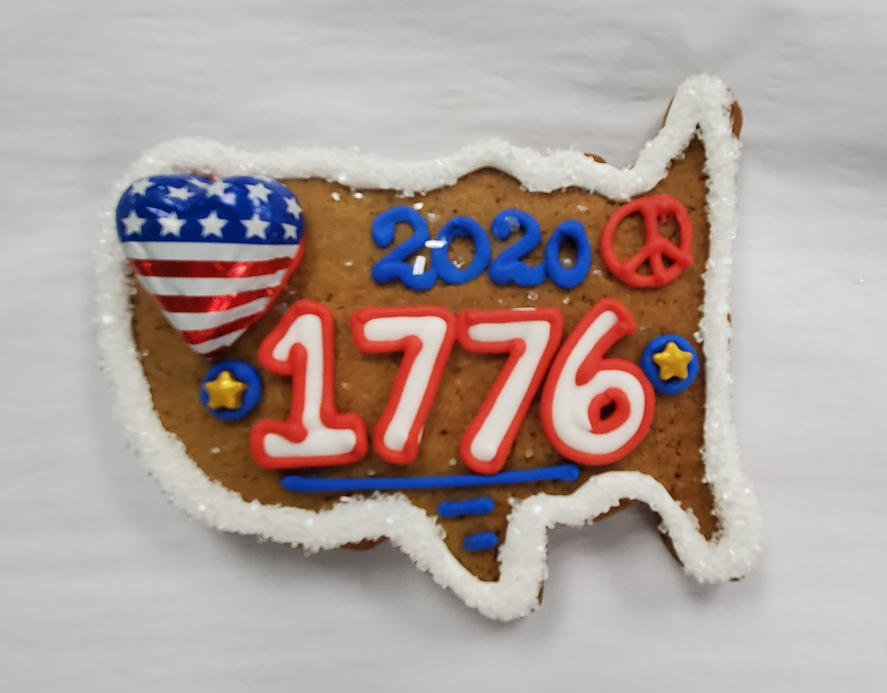 1776 USA cookie