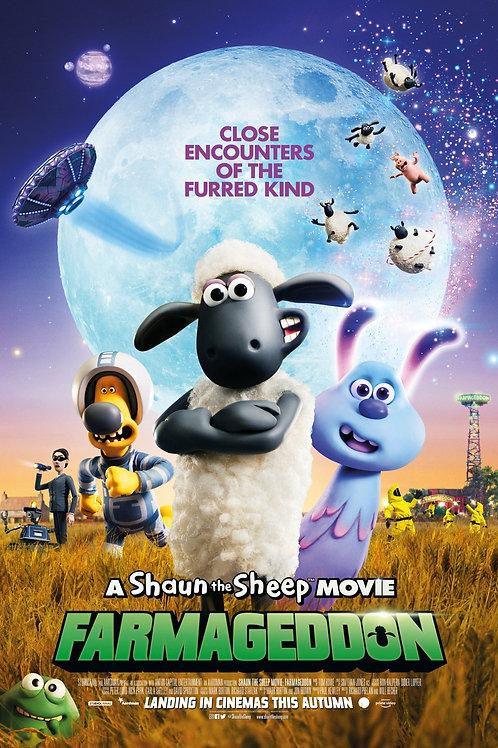 Shaun The Sheep: Farmageddon | Friday 25 September, 6:15pm | Hendra