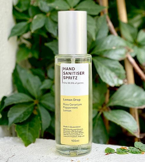 """Lemon Drop"" Spritz Hand Sanitiser 100mL"