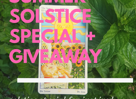 Summer Solstice Special and Instagram Giveaway!!