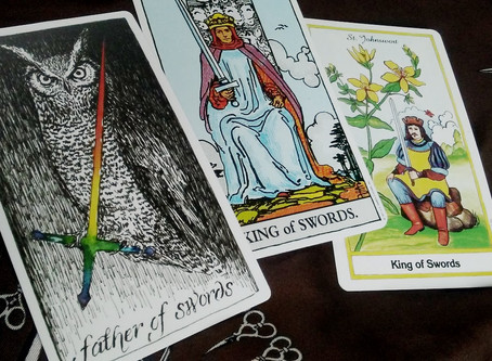King of Swords- Grounding Reason with the Heart