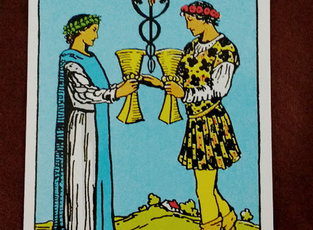Two of Cups- What Does Love Look Like?