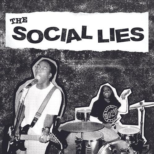 """THE SOCIAL LIES S/T 7"""" ***PRE-SALE***Ships June 2021"""