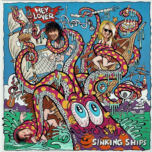 "HC061 HEY LOVER Sinking Ships 12"""