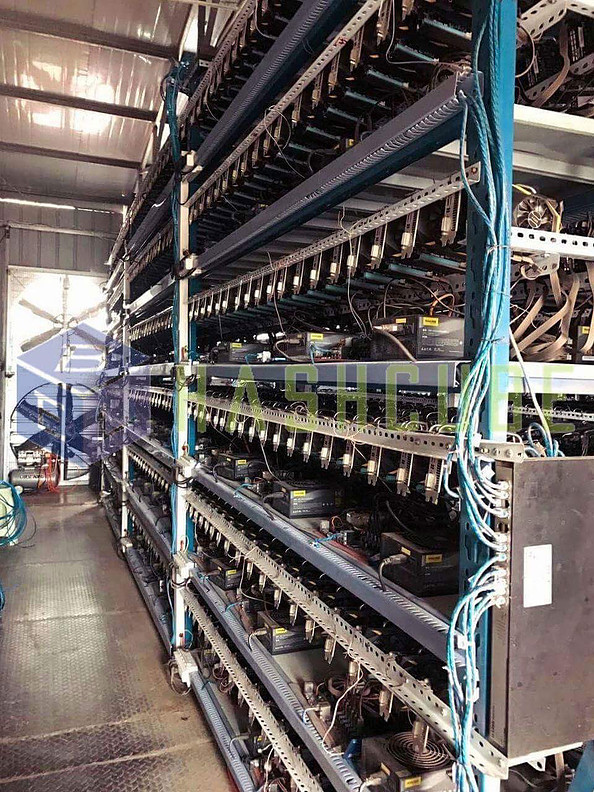 1st GPU Mining in China (2017.05)