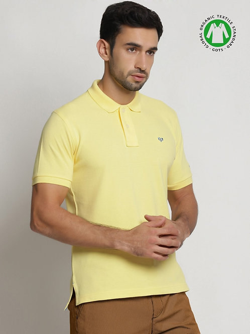 Peeppal: Organic Sunshine Polo T-Shirt