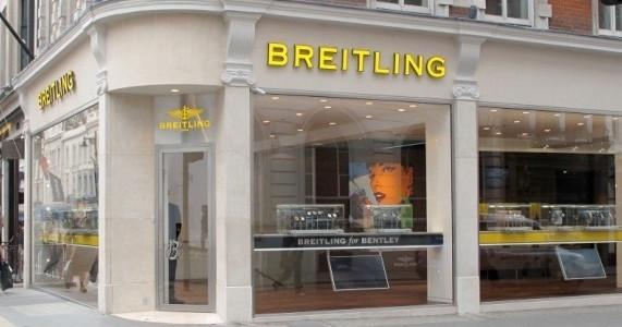 Breitling Shopfront, London