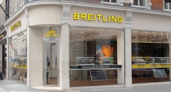 Breitling Shopfront, London