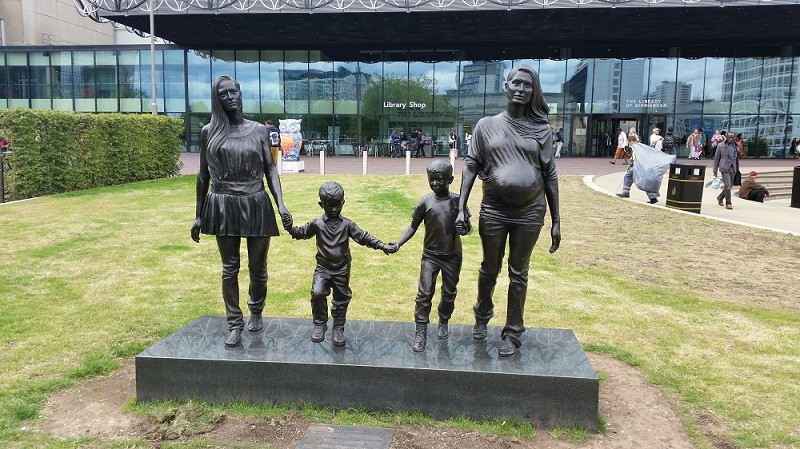 A Real Birmingham Family Sculpture by Gillian Wearing