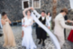 Casamento em Santorini do nosso casal super especial Fernanda e Marcelo