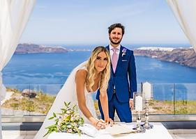 Fotos de Casamento em Santorini