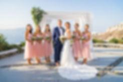 Casamento em Santorini do nosso casal super especial Elly e Nick