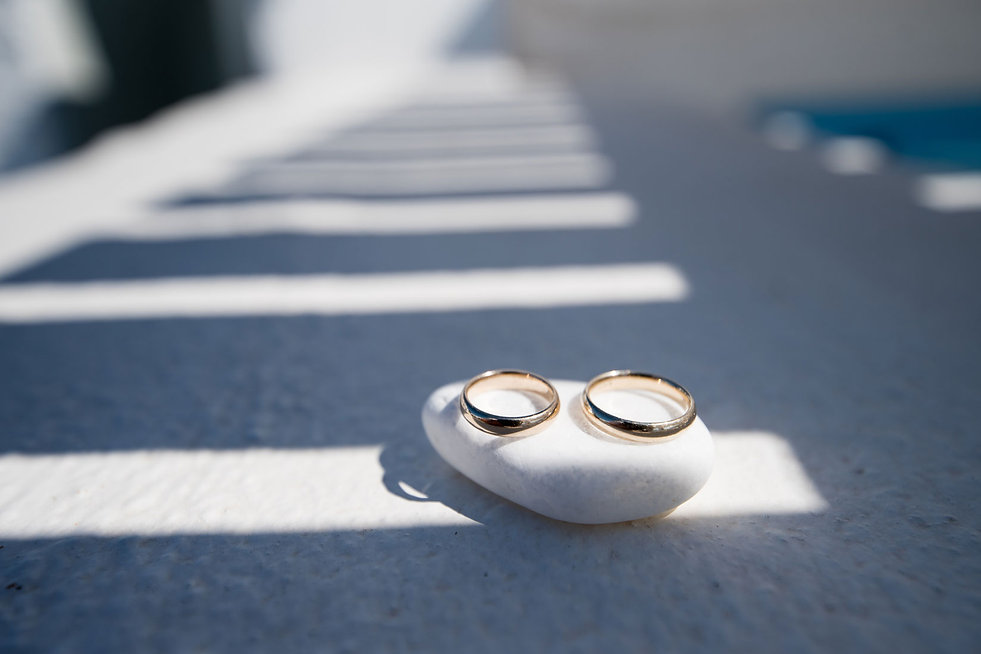Casamento em Santorini no nosso casal super especial Bethania e Luis