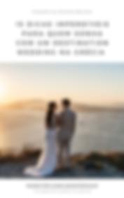 Cover para casamento em santorini ebooks